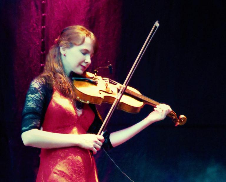 Koncert Anny Jeklové na zámku v OPOČNĚ